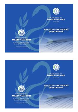 2015 yılı ilaç alım protokolü çalışma kitapçığı
