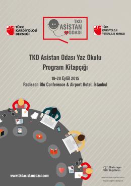 TKD Asistan Odası Yaz Okulu Program Kitapçığı