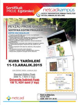 Üniversite İndirimli Fiyatı 150 TL KDV dahil (1 kişi)