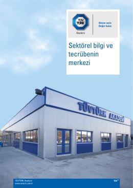 TÜVTÜRK Akademi www.tuvturk.com.tr