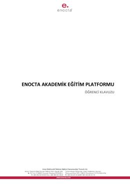 ENOCTA AKADEMİK EĞİTİM PLATFORMU