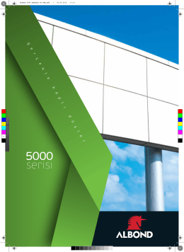 Albond 5000 Serisi