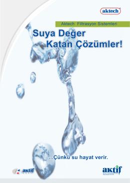 Suya Değer Katan Çözümler!
