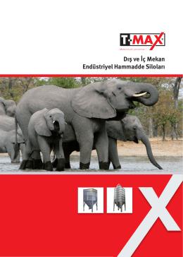 Endüstriyel Hammadde Siloları - T-Max