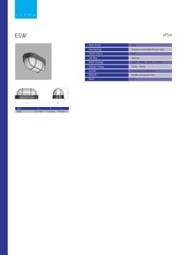 Ürün Kodu ESW Işık Kaynağı Yüksek verimli Mid-Power LED