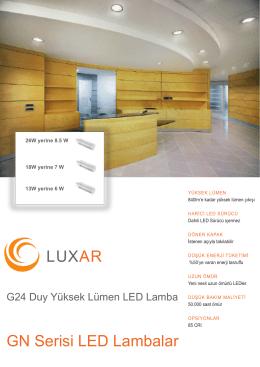 LUXAR GN Serisi LED Lambalar
