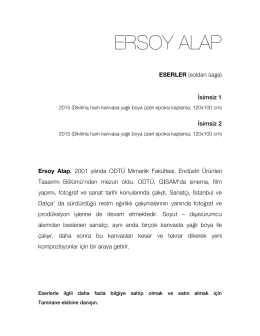 ERSOY ALAP