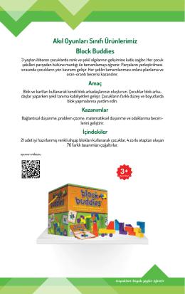 Block Buddies Akıl Oyunları Sınıfı Ürünlerimiz