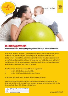 minifit@pratteln - Gemeinde Pratteln