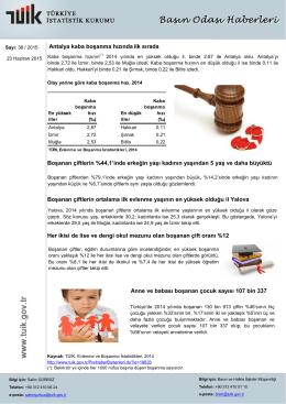 Antalya kaba boşanma hızında ilk sırada Boşanan çiftlerin %44,1