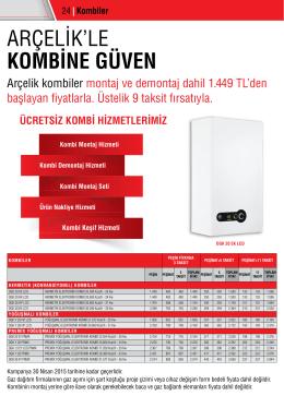 Kombi - Arçelik