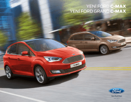 yeni ford c-max yeni ford grand c-max