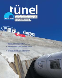 Tünel Dergisi 7 - tünelcilik derneği