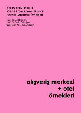 AVM + Otel - SAYISAL MİMAR