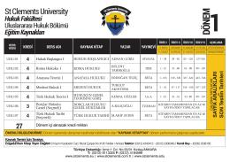 4 - St.Clements University Başvuru Formu