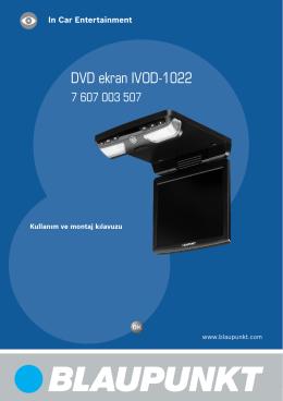 DVD ekran IVOD-1022