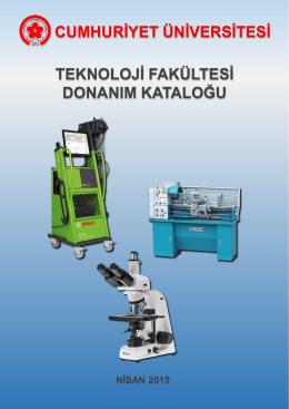 Donanım Kataloğu - Teknoloji Fakültesi