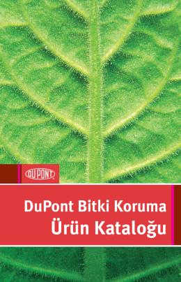 DuPont Bitki Koruma Ürün Kataloğu