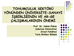 Prof.Dr. Hakan ÖZKAN