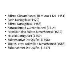 Osmanlı Dönemi