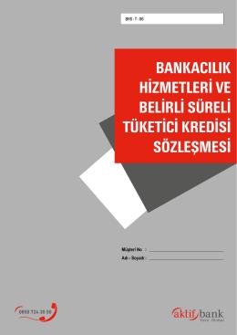 BHS-T (Bankacılık Hizmetleri ve Tüketici Kredisi