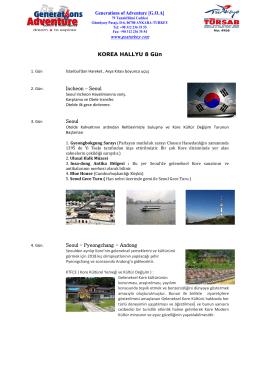 KOREA HALLYU 8 Gü n