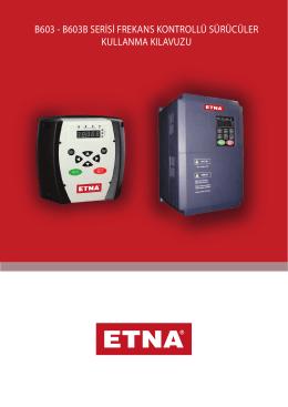 ETNA frekans kontrol sürücüsü kullanma kılavuzu
