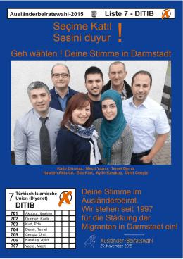 DITIB - Arbeitsgemeinschaft der Ausländerbeiräte in Hessen (AGAH)