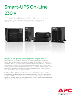 Smart-UPS On-Line - Schneider Electric