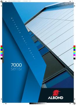 Albond 7000 Serisi