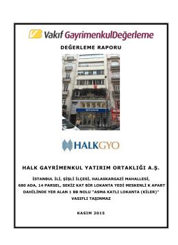 İstanbul Nişantaşı Bina (Kasım 2015)