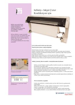 Infinity™ Inkjet Çizici Konfeksiyon için