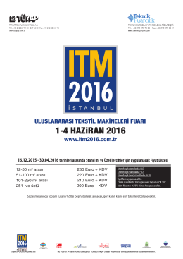 1-4 HAZiRAN 2016
