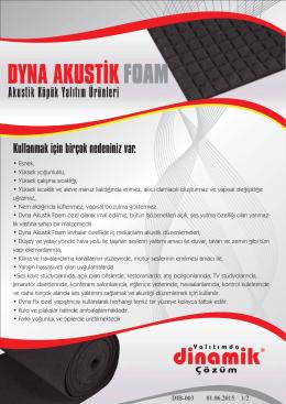 Dyna Akustik - Dinamik Isı A.Ş.