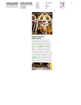 Derin Ekonomi Dergisi