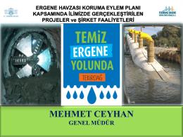 PRESENTATION NAME - Tekirdağ Ergene Derin Deniz Deşarj A.Ş