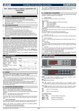 Orta - düşük sıcaklık ve soğutma uygulamaları için kontrol cihazı + + +