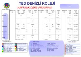 TED DENİZLİ KOLEJİ