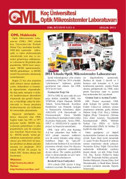 OML Bülten 6 Türkçe