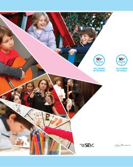 Okul Tanıtım Broşürü - Özel Üsküdar SEV İlköğretim Okulu