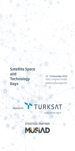 Panel Programı - Satellite Space and Technology Days