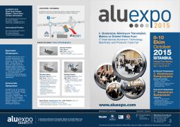 Aluexpo 2015 Brochure