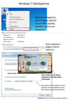 PowerPoint Sunusu - Mevlana Üniversitesi Bilgi İşlem Daire