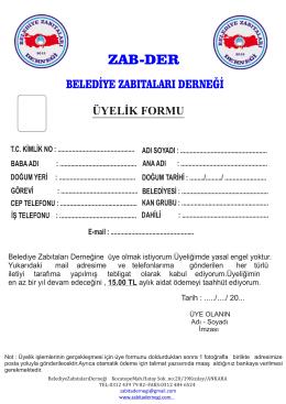 dosyayı indir - ZAB-DER Belediye Zabıtaları Derneği