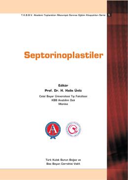 Septorinoplastiler - Türk Kulak Burun Boğaz ve Baş Boyun Cerrahisi