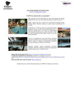 KALAHARI RESORT SUNDASKY OHIO http://www.kalahariresorts