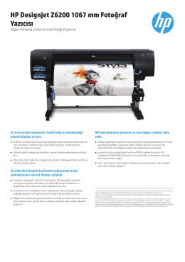 HP Designjet Z6200 1067 mm Fotoğraf Yazıcısı