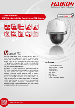 DS-2DF6236V-AEL 2MP Ultra WDR Smart PTZ