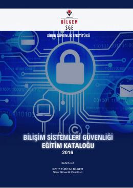 Eğitim Kataloğu - Siber Güvenlik Enstitüsü