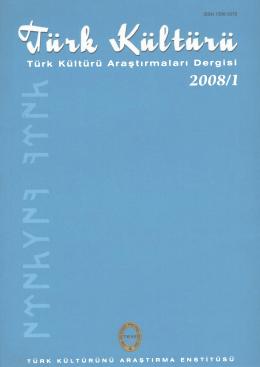 Türk Kültürü Araştırmaları Dergisi